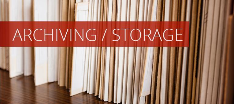 Archiving/Storage