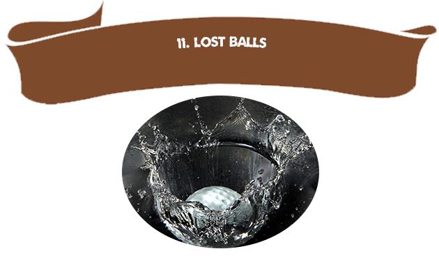 11. Lost Balls