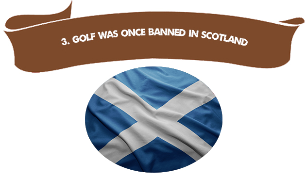 3. Gold Was Once Banned in Scotland
