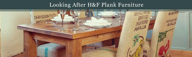 looking after plank furniture