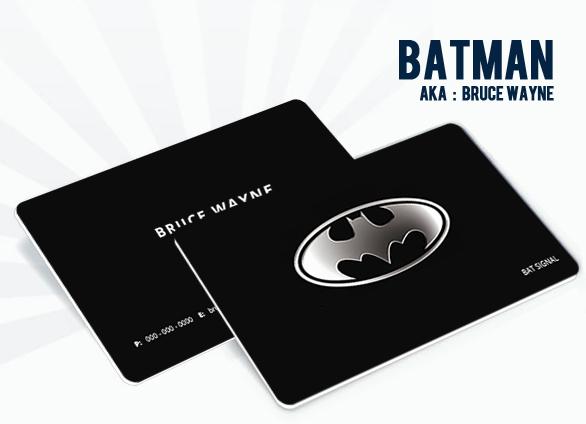 Batman aka Bruce Wayne