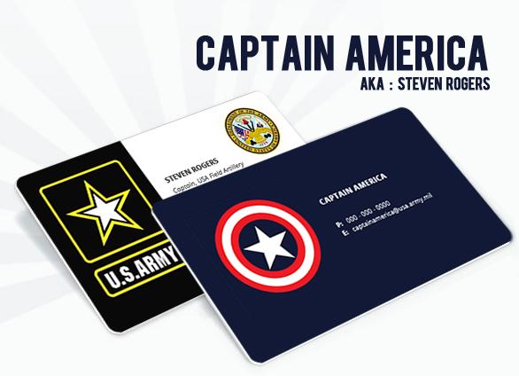 Captain America aka Steven Rogers