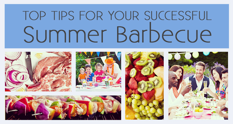 Top Tips for Your Successful Summer Barbecue