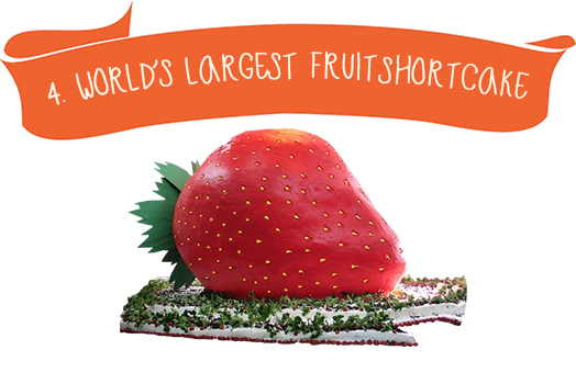 4. Worlds Largest Fruit Short Cake