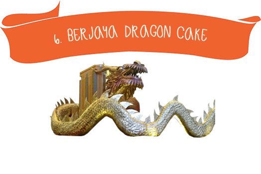 6. Bergaya Dragon Cake
