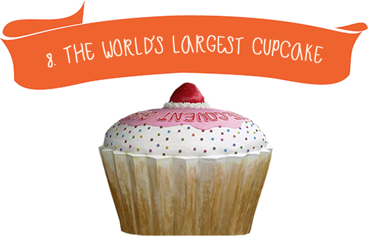 8. The World`s Largest Cupcake