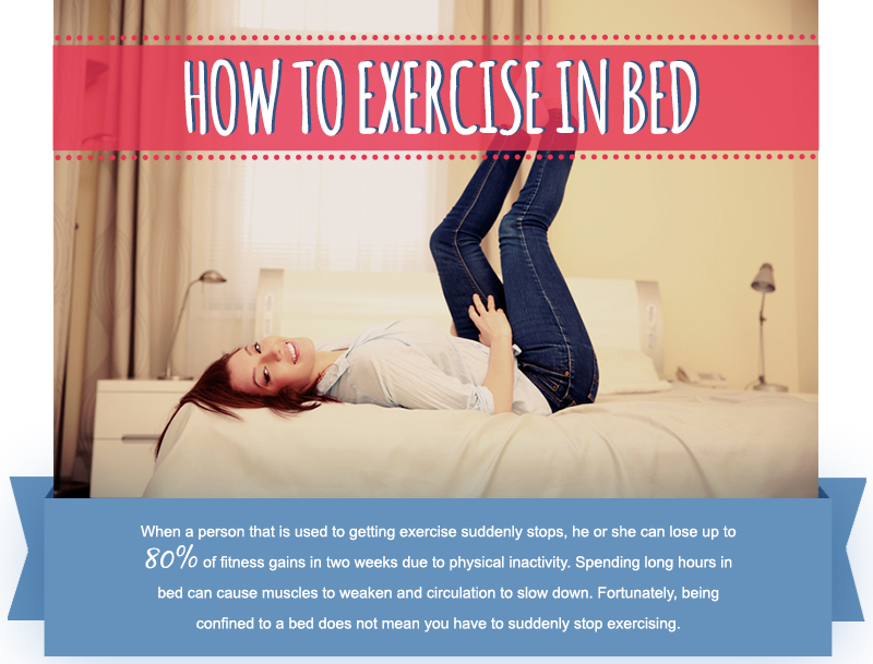 How to Exercise in Bed