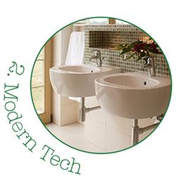 Modern Tech Bathroom